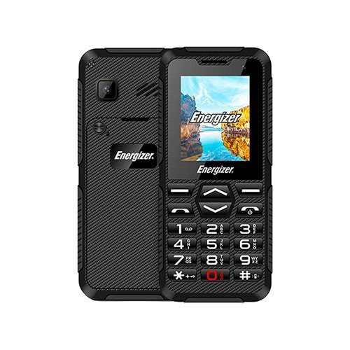 H10 Hardcase Dual SIM Phone Front and Rear View