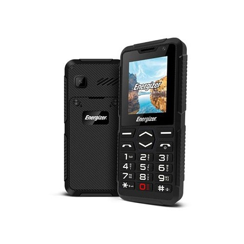 H10 Hardcase Dual SIM Phone Tilted Right View