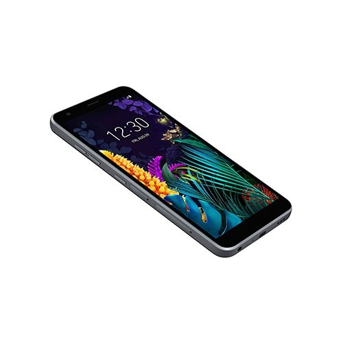 LG K30 Dual SIM Phone Front View Tilted