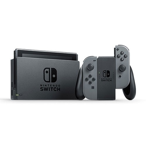 Nintendo Switch with Grey Joy-Con Complete Package