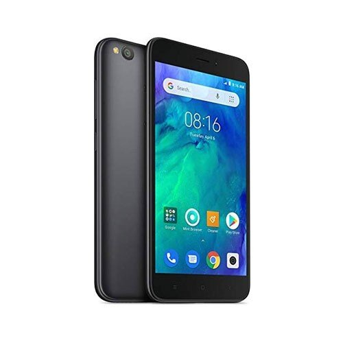 Xiaomi Redmi Go 16GB Dual Sim Phone Front Plus Rear Right Tilted View