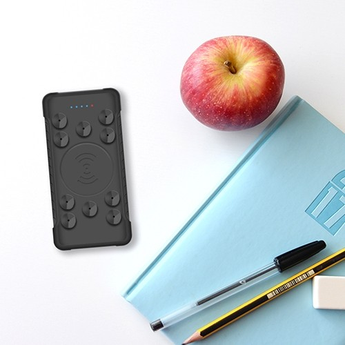 Portable Wireless Powerbank with Suction 5
