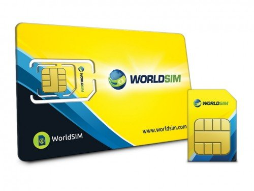 WorldSIM International SIM Card 3