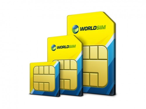 WorldSIM International SIM Card 5