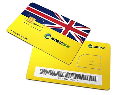 UK SIM Card 2