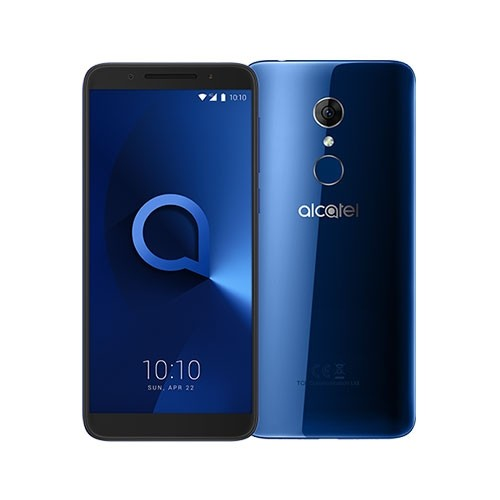 Alcatel 3 Mobile Phone Front & Rear View