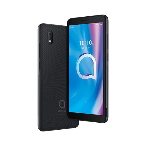 Alcatel 1B (2020) Smartphone Front Tilted & Rear View