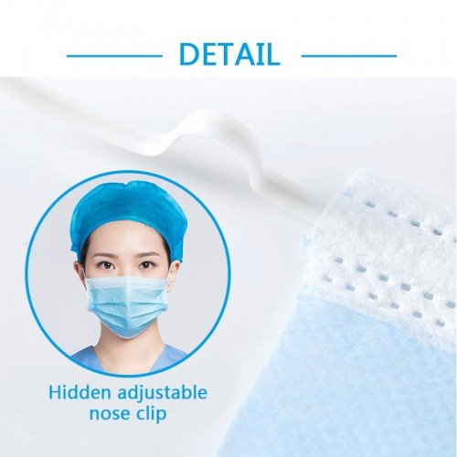 3 Ply Disposable Face Masks Full Protection