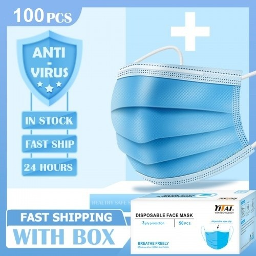 3 Ply Disposable Face Masks Prevents The Spread Of CORONA VIRUS / COVID-19