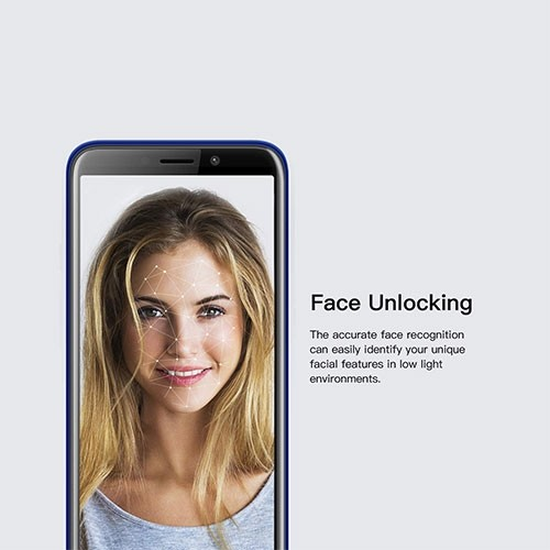 X50L 4G Dual SIM Phone Face Unlocking