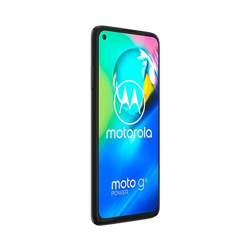 Moto G8 Mobile Front Right Tilted View
