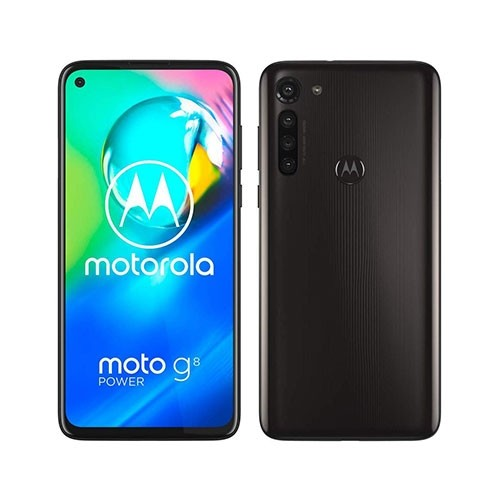 Moto G8 Mobile Front & Rear View