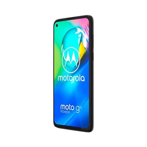 Moto G8 Mobile Front Left Tilted View