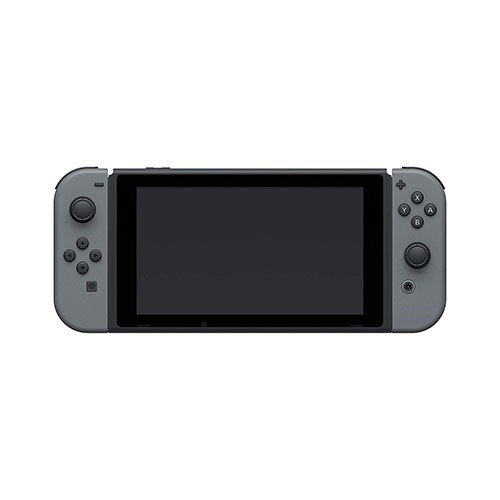 Nintendo Switch with Grey Joy-Con Front View