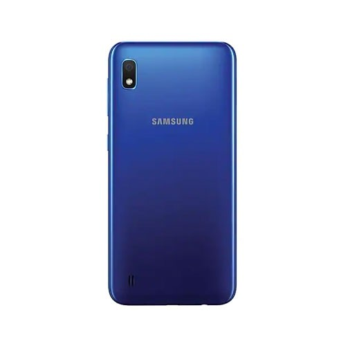 Samsung Galaxy A10 Blue Rear View