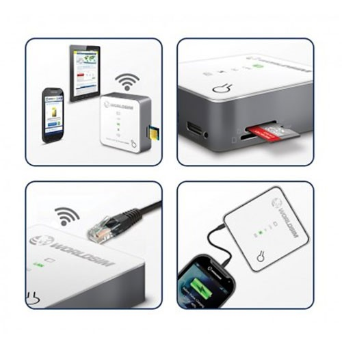 Tri-Fi Portable WiFi Router with Powerbank 5