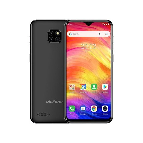 Ulefone Note 7 Dual SIM Phone Front & Rear View