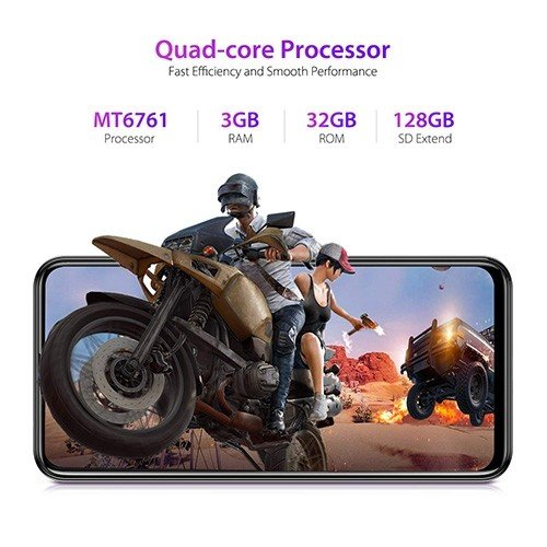 Ulefone Note 7P 4G Mobile Phone Gaming Processor