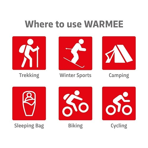 Warmee Hand Warmers Heat Pouch - (pack of 4 regular)  4