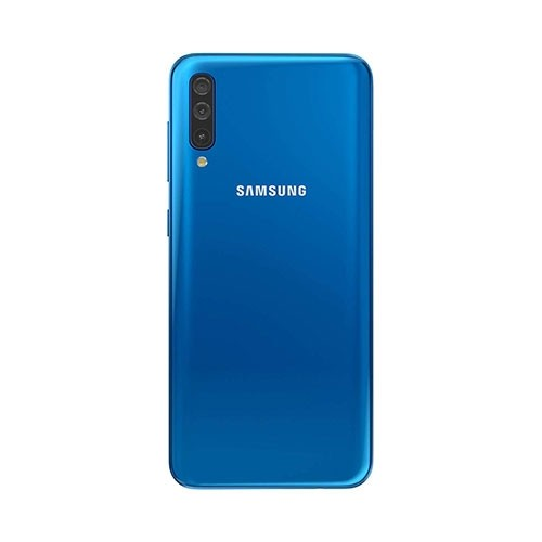 Samsung Galaxy A50 Blue Rear View
