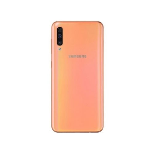 Samsung Galaxy A50 Coral Rear VIew