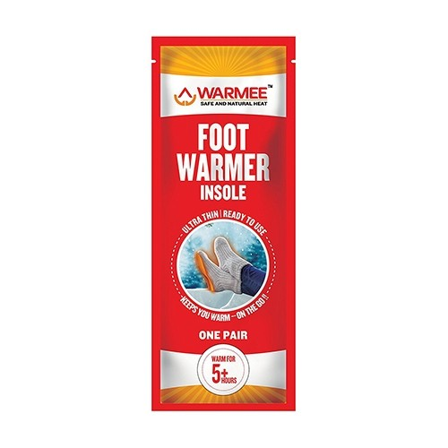 Warmee Foot Warmers Insole Heat Pouch - (2 pairs)  1