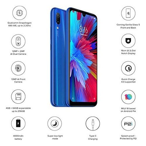Redminote7 Blue Features