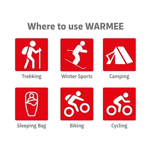 Warmee Body Warmers Heat Pouch - (pack of 5 regular)  3