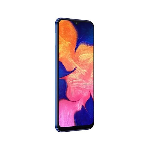 Samsung Galaxy A10 Tilted Left Blue View