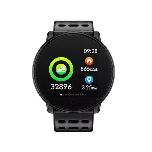 WorldSIM Fitness Watch and Tracker Black