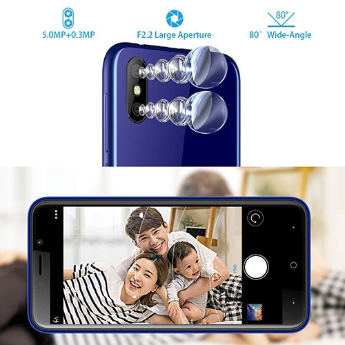 X50L 4G Dual SIM Phone Camera
