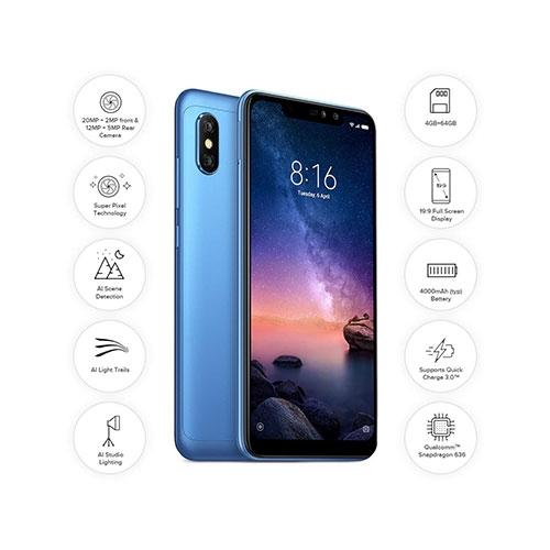 Xiaomi Redmi Note 6 Pro Dual SIM Phone