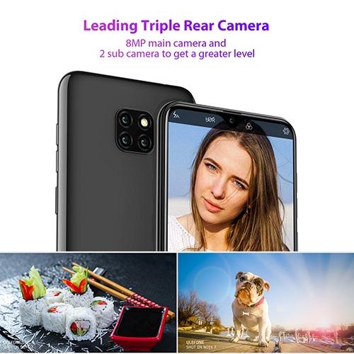 8MP+5MP camera