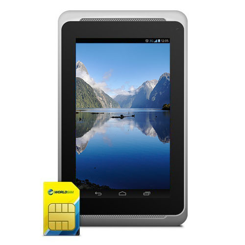 International roaming travel SIM card for android tablet