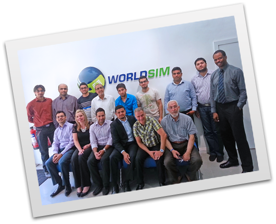 Our WorldSIM team
