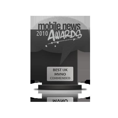 Mobile News Awards best uk mvno