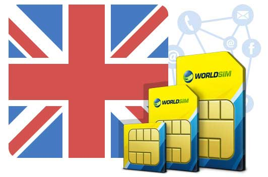 WorldSIM Pay as you go UK Travel SIM card