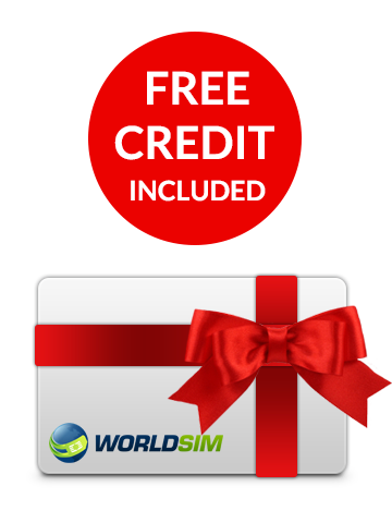 Free credit included for USB Dongle