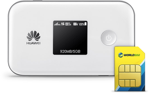 Global Data SIM card for Huawei MiFi E5577s-321