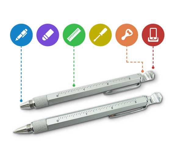 Overview Multi seven in one Tool pen