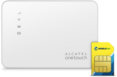 Global Data SIM card for Alcatel WiFi Hotspot Y585V