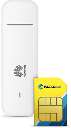 Free Worldwide Data SIM for Huawei Mobile WiFi E3372-153