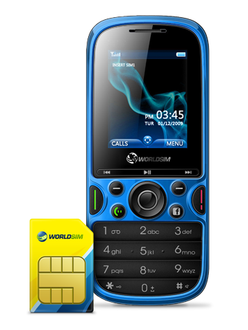 Free International Roaming travel SIM card for world dual sim phone