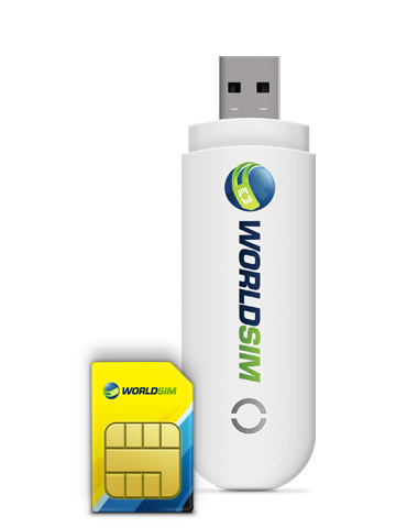 Data Roaming SIM for USB Dongle