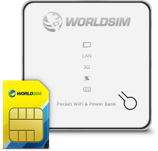Data Roaming SIM WiFi hotspot