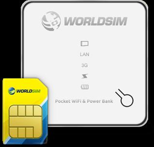 Data Roaming SIM WiFi hotspot