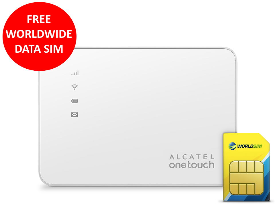 Overview Alcatel WiFi Hotspot Y585V 4G