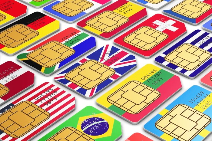 International SIM cards va local SIMs