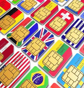 Image result for international sim card
