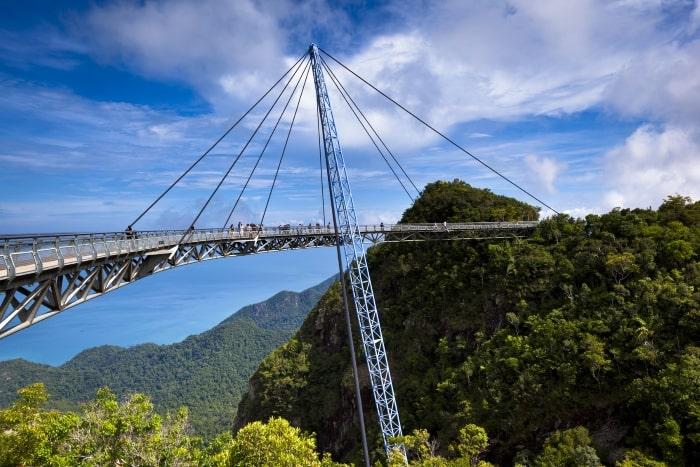 The sky bridge in Langkawi